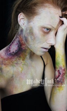 Zombie Bite Makeup Tutorial | Special FX Series