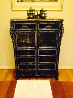 Mi primer mueble restaurado!