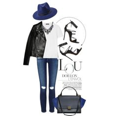 A fashion look from October 2015 by justvel featuring The Row, Yves Saint Laurent, AG Adriano Goldschmied, Dsquared2, CÉLINE, SHOUROUK, Forever 21, Bebe and be...