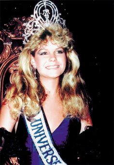 Lorraine Elizabeth Downes is a New Zealand former beauty queen who held the Miss Universe title in 1983