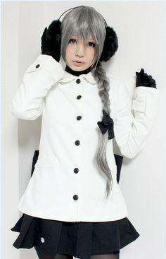 Sekka Yufu Miku Cosplay, Kawaii Diy, Cosplay Characters, Vocaloid, Ruffle Blouse, Long Sleeve, People, Sleeves, Tops
