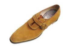 John Lobb / Wholecut Oxford Laid On Facings Strap and Buckle- (SS7910)