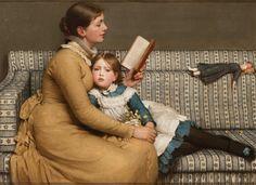 "spoutziki-art: ""  George Dunlop Leslie - Alice in Wonderland, c.1879 """