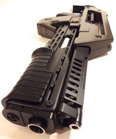 Aliens M41-A Pulse Rifle Replica, All Steel, Super Deluxe Version