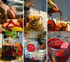 Sangria Sparkler with Wine, Brandy, and Orange Liqueur 17 Super Easy Sangrias To Make This Summer Sangria Recipes, Drinks Alcohol Recipes, Wine Recipes, Cooking Recipes, Irish Cream, Summer Drinks, Fun Drinks, Party Drinks, Mixed Drinks