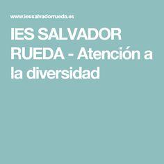 IES SALVADOR RUEDA - Atención a la diversidad