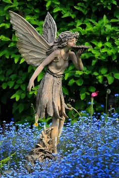 What my gardens need ... a garden fairy