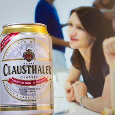 Un día cualquiera puede volverse especial con una buena conversación y una refrescante Clausthaler