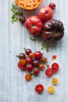 Tomatoes by Cannelle et Vanille, fresh and healthy food, eten en drinken, food photography,