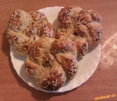 Kaiserky/VYZKOUŠENO Bread And Pastries, French Toast, Muffin, Meat, Chicken, Baking, Breakfast, Food, Breads