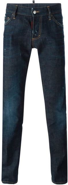 Dsquared2 'Slim' jeans Slim Jeans, Distressed Jeans, Dsquared2, Stylish, Pants, Men, Shopping, Tops, Fashion