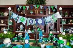 A ton of cute golf themed party ideas