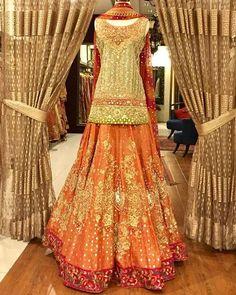 #weddingseason Sparkle in this mehndi outfit this wedding season by #AishaImran. @aisha_imran_official #mediaspringpk #weddingwear #weddingstyle #weddingceremony #Traditionallook #Dolledup #ethnicwear #mehndi #mehndinight #mehndiwear