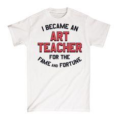 67830db99 We all know that there's no life more glamorous than that of art teacher!  Celebrate