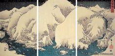 """静寂哀婉的""""乡愁""""——浮世绘风景画师歌川广重(二) - 潘力的文集 - 博客(聚艺厅) - 艺术国际 Artintern.net"""