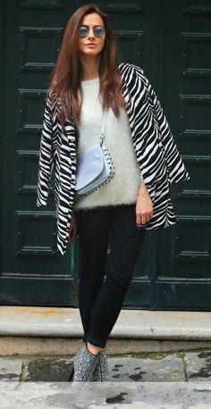 Shop the Lookbook >>> http://www.pariscoming.com/en-pocketed-zebra-print-coat-p157703.htm