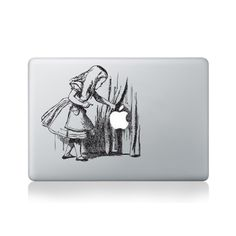 Alice in Wonderland Curtains Macbook Sticker #aliceinwonderland #macbookstickers #pimpmymacbook