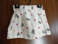 Skirt and Vest Set Little Girls Puppy Print Skirt and Vest Set #Handmade #Everyday
