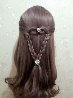 Fashionable Ideas for Bohemian Hairstyles Little Girl Hairstyles, Pretty Hairstyles, Braided Hairstyles, Teenage Hairstyles, Short Hairstyles, Girl Hair Dos, Baby Girl Hair, Bohemian Hairstyles, Toddler Hair