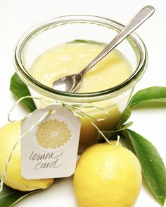 Yummy Lemon Curd!  Only has four ingredients and it is easy to make.  Spread on toast and muffins.  This is a family favorite.