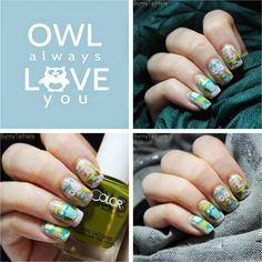 BunnyTailNails: So long, and thanks for all the cute owls!