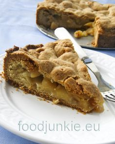 I like apple pie Greek Desserts, Apple Desserts, Greek Recipes, Fruit Pie, Apple Cake, Sweets Recipes, Food Porn, Food And Drink, Favorite Recipes