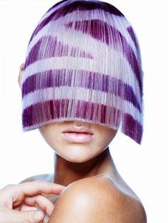 Hair goals: Fringe benefit Collection: On the fringe/ Hair Salon : Bond Hair Religion/ Hair Design Team: Jenni Tarrant , Amber Rigg , Shaun Pollard/ Make up: Casey Gore/ Photography: David Mannah/ Location : Australia/ Image credit © David Mannah , Bond Hair Religion/ #hair #stylist #photography #hairart #hairstyle #hairstylist #fringe #hairdye #hairgeometry #australia #goldcoast #downunder #dyejob #hairbleach #bleachedhair #bangs #hairdesign #hairprint