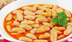 Fazuľový prívarok so smotanou | DobreJedlo.sk Shrimp, Food, Essen, Meals, Yemek, Eten