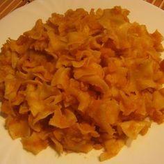 Egyszerű krumplistészta Recept képpel - Mindmegette.hu - Receptek