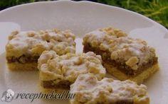 Dióhabos reszelt linzer recept fotóval Krispie Treats, Rice Krispies, Poppy Cake, Sweet Cookies, Mashed Potatoes, Cupcakes, Ethnic Recipes, Food, Whipped Potatoes