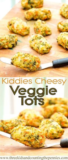 These super healthy vegetarian fingers are a fun way to get veg into the kids.