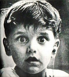 A boy hears sound for the first time in his life.