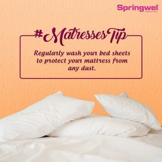 Regularly Wash Your Bed Sheets And Pillow Covers And Keep The Area Around  The Clean To Protect It From Mites.