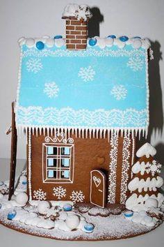 Tässä talossa osa tontuista asuu ja viettää joulunsa.