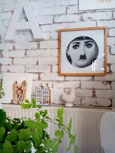 #walldecor #oldiart #fornasetti Photo & design by Merci-Ancsa dekor