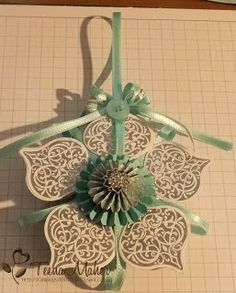 Winter Frost Decoration Stampin' Up!