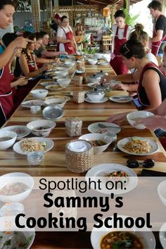 Article about Sammy's Cooking School in Chiang Mai, Thailand.