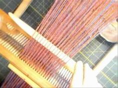 Great video on how to warp and weave double wide or tube on a rigid heddle loom.