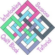 Tutorial: Interlocking Seasons quilt block – Quilting