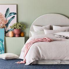 Home Republic - Waves Quilted Velvet Quilt Cover Girl Bedroom Designs, Kids Bedroom, Bedroom Decor, Condo Interior, Home Interior Design, Home Office, Rainbow Bedding, Home Republic, E Room