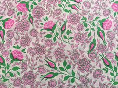 Hey, I found this really awesome Etsy listing at https://www.etsy.com/listing/223797292/vintage-gift-wrapping-paper-pink-green