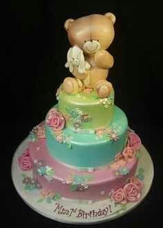 Adorable Birthday cake design!