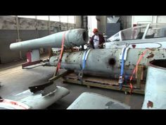 The National Museum of the US Air Force - Part 4 - Restoration Hangar - YouTube