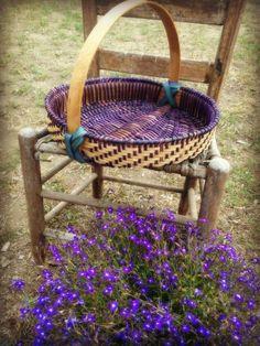 Appalachian Herb Drying Basket | Jill Choate Basketry - J Choate Basketry