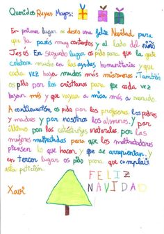 Carta a los reyes magos, and who said, that pinterest can't teach, just in this text  some new expresions in spanish :)