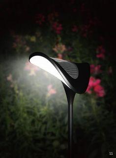 Solar Garden Path Lighting – Solar Ray – Solar Path Light – Set of Three (3) Lights