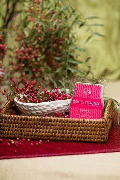 ScenTrend Pink Pepper!! Available Feb. 1st.. comment to order or order online at http://fabulousscents1.scents.us