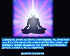 """#damiaomaximino #corpomenteespirito #corposãomentesã #corpo #mente #sã #hábitos #teueu #eusou #exerciciosdiarios #espiritodebondade #espíritodeamor #espírito #amor #estudos #bondade #agradecer #agradece #gratidão #amor #gratidãoeamor ✨ 🌟 ✨ """"Exercita..."""