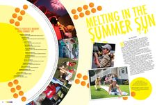 2011 yearbook layout