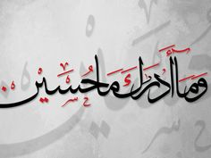 Arabic Calligraphy V by Hasan Syed